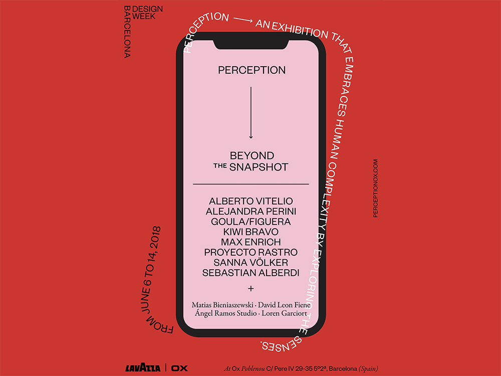 Perception: mobiliario, vídeo y audio en el marco de la BDW 2018