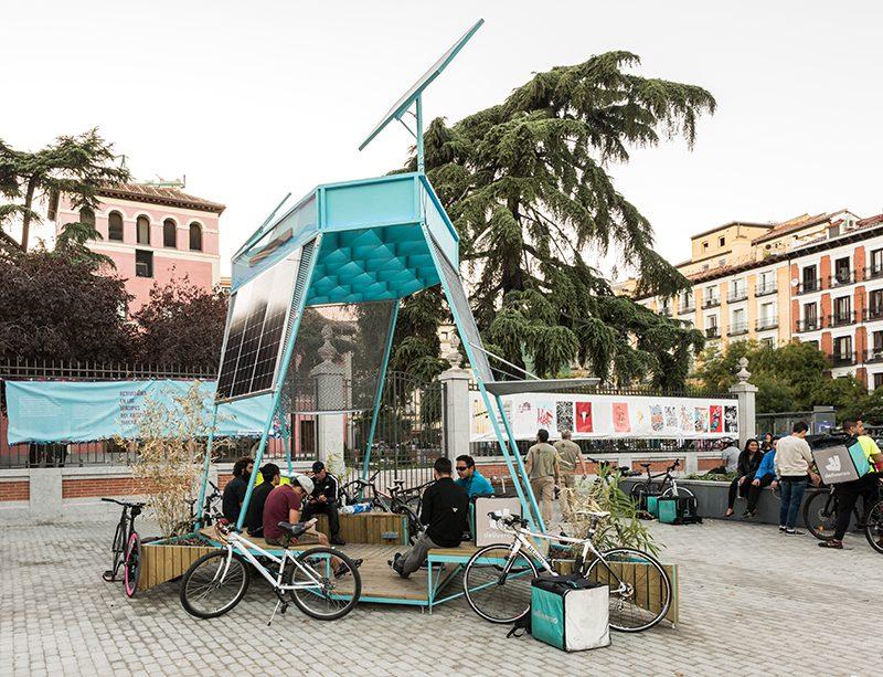 Tandem, intervención hacia la autosuficiencia energética en el espacio público
