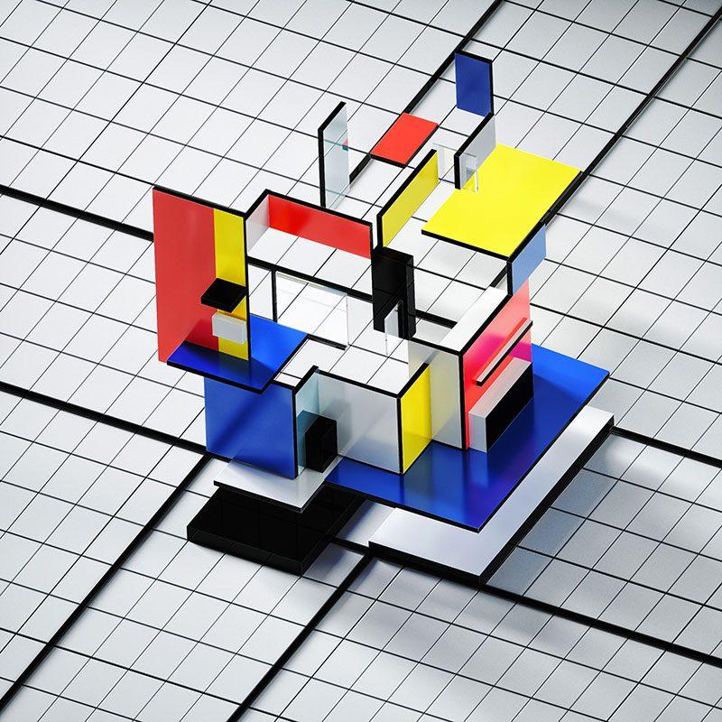 Render Mag, un proyecto de realismo onírico del estudio OUUM