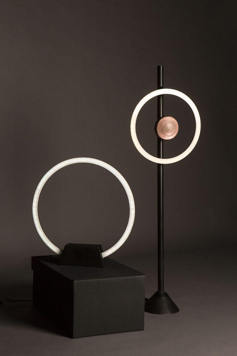 Zero. Lámparas diseñadas para Artemide realizadas por Pedro Cardona y Frenando Bencomo.