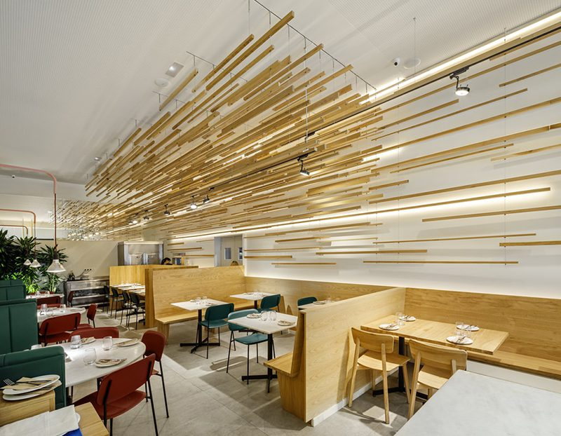 Bona Sort Eixample, el nuevo restaurante de Jordi Ginabreda Interiorisme
