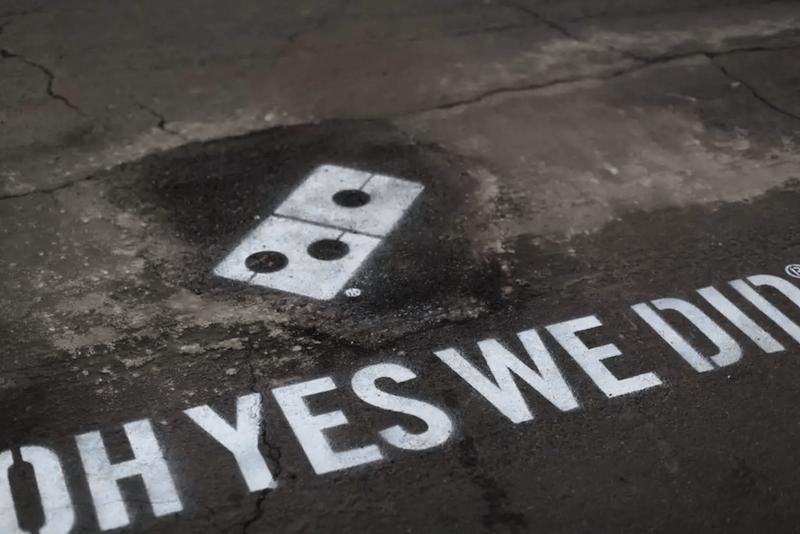 Paving for pizza, la campaña de Domino's para acabar con los baches