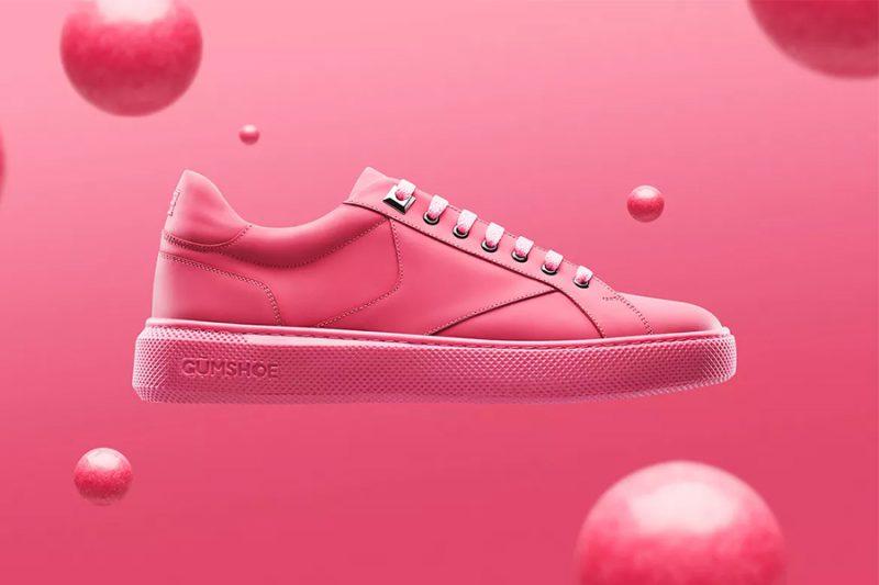 Gumshoe: Las sneakers con suela de chicle reciclado