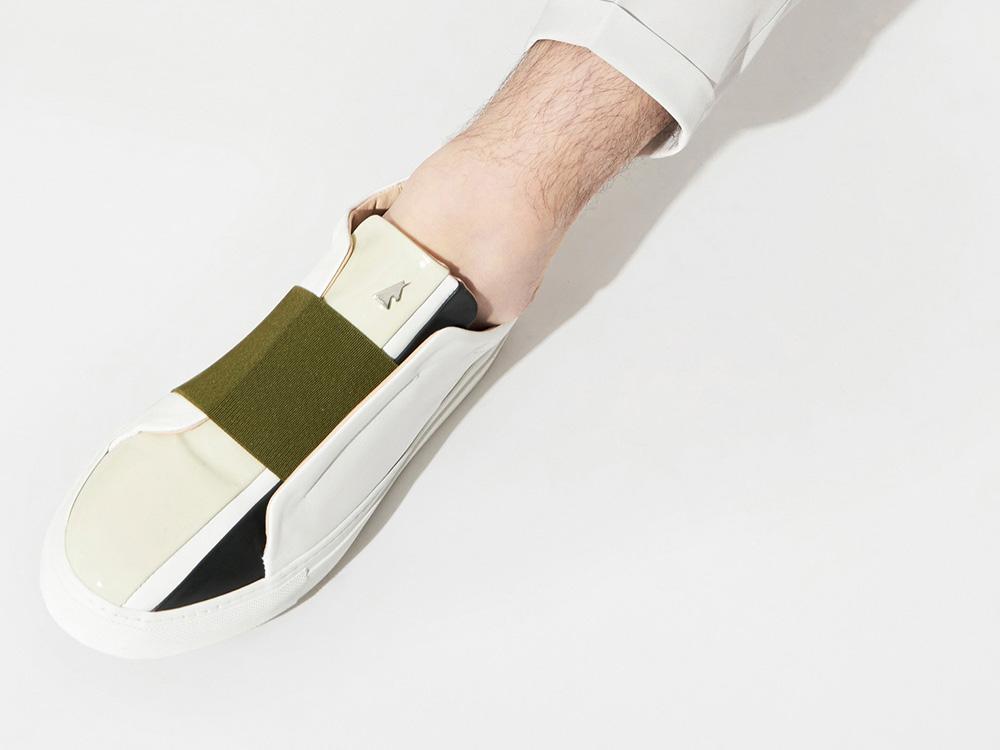 Las zapatillas de lujo de Daniel Essa. Un refugiado sirio en Francia