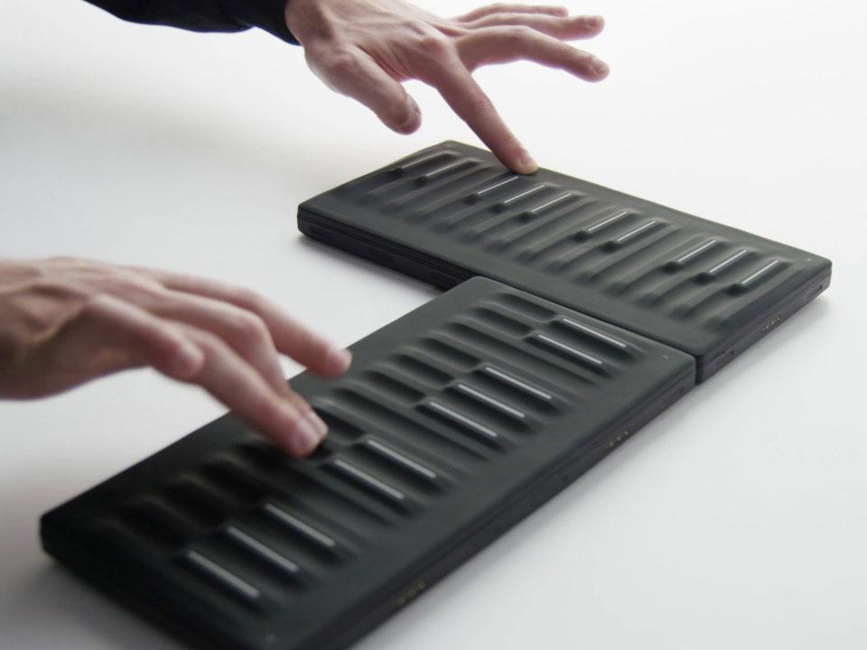 Seaboard Block, el teclado modular, portátil y económico de Roli