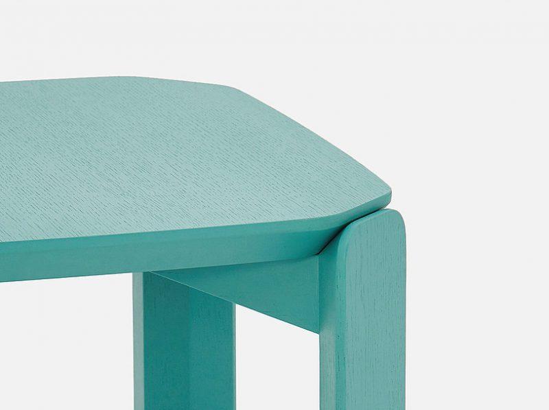 45º, el versátil sistema de mesas de Laselva