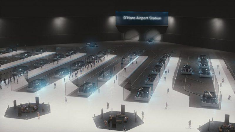 Chicago Express Loop, la alta velocidad de Elon Musk llega a Chicago