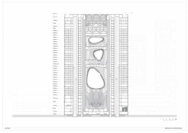 Abre el Morpheus Hotel de Zaha Hadid Architects en Macao, China