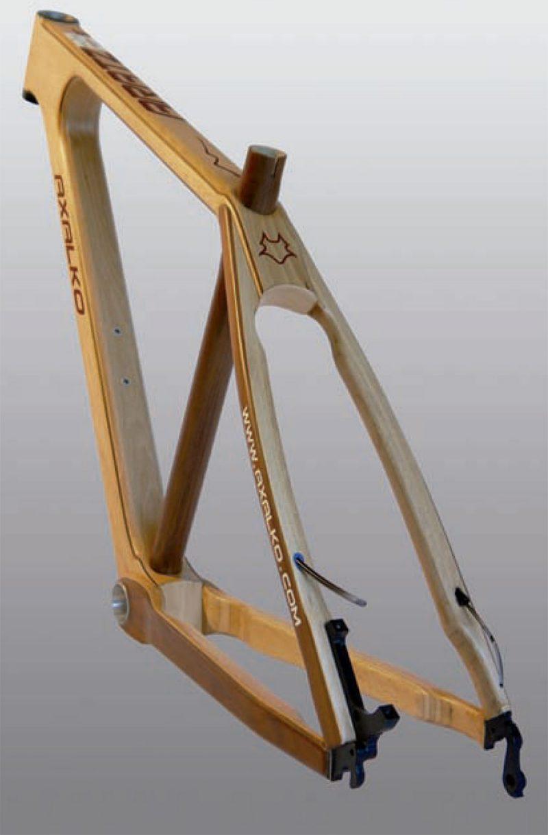 Axalko: bicicletas con alma de madera