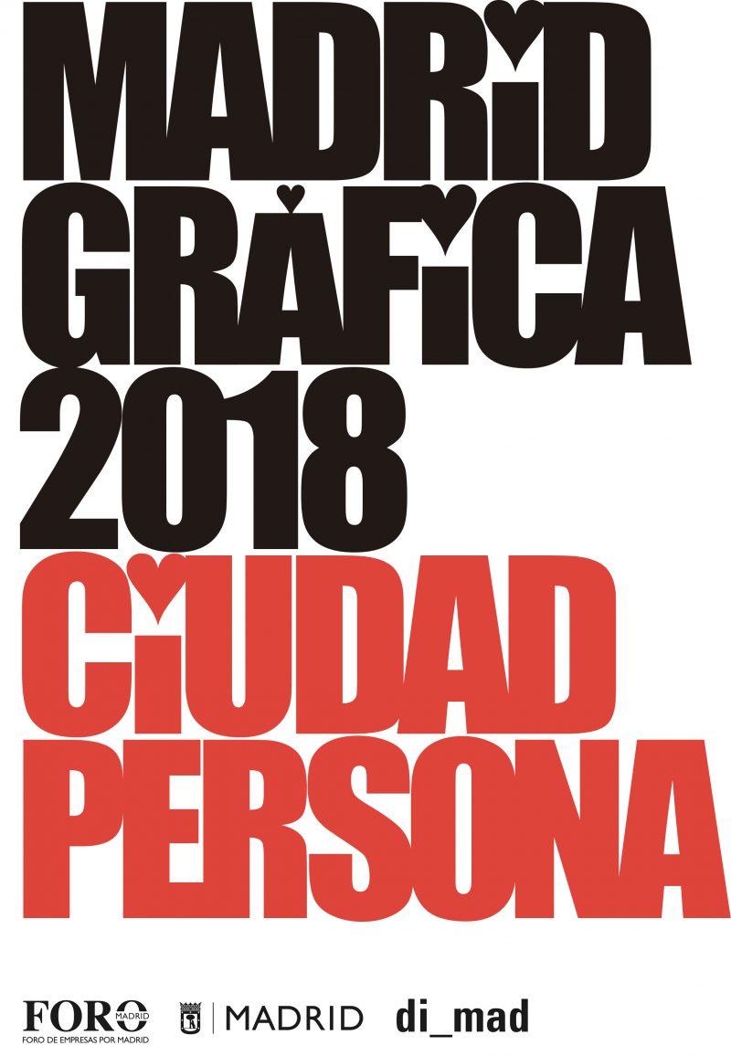 Convocatoria abierta de Ciudad Persona, segunda edición de la exposición de Carteles dentro del ámbito de MadridGráfica18, hasta el 15 de agosto.