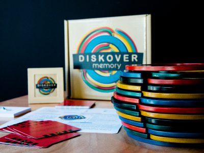Diskover Memory, el juego de mesa para la rehabilitación psicomotriz. © Marta Belmonte