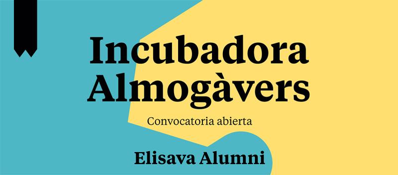 Se amplía el plazo de la 2a convocatoria de Elisava Alumni en el que se impulsan nuevas empresas hasta el 10 de julio.