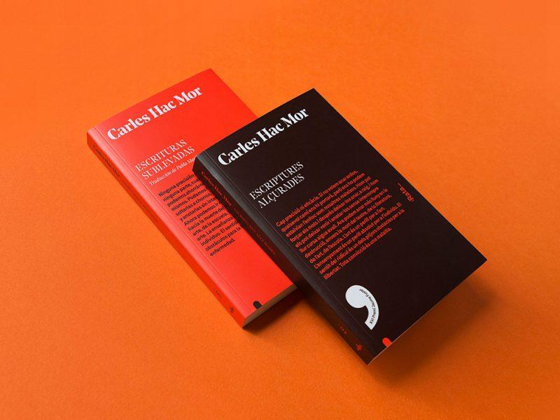 Rata,diseño editorial de Toormixdarle la vuelta al clásico diseño de libros