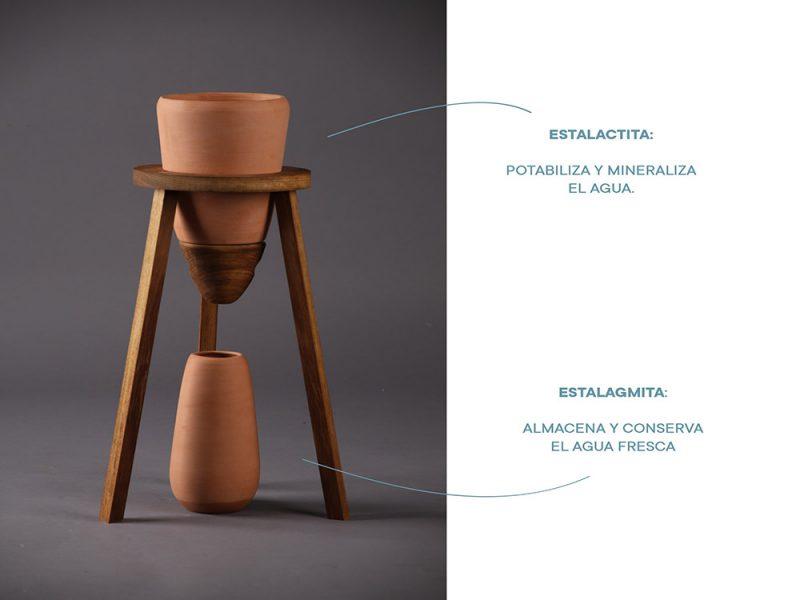 Stalactite, la alternativa al agua embotellada creada por alumnos del IED Barcelona