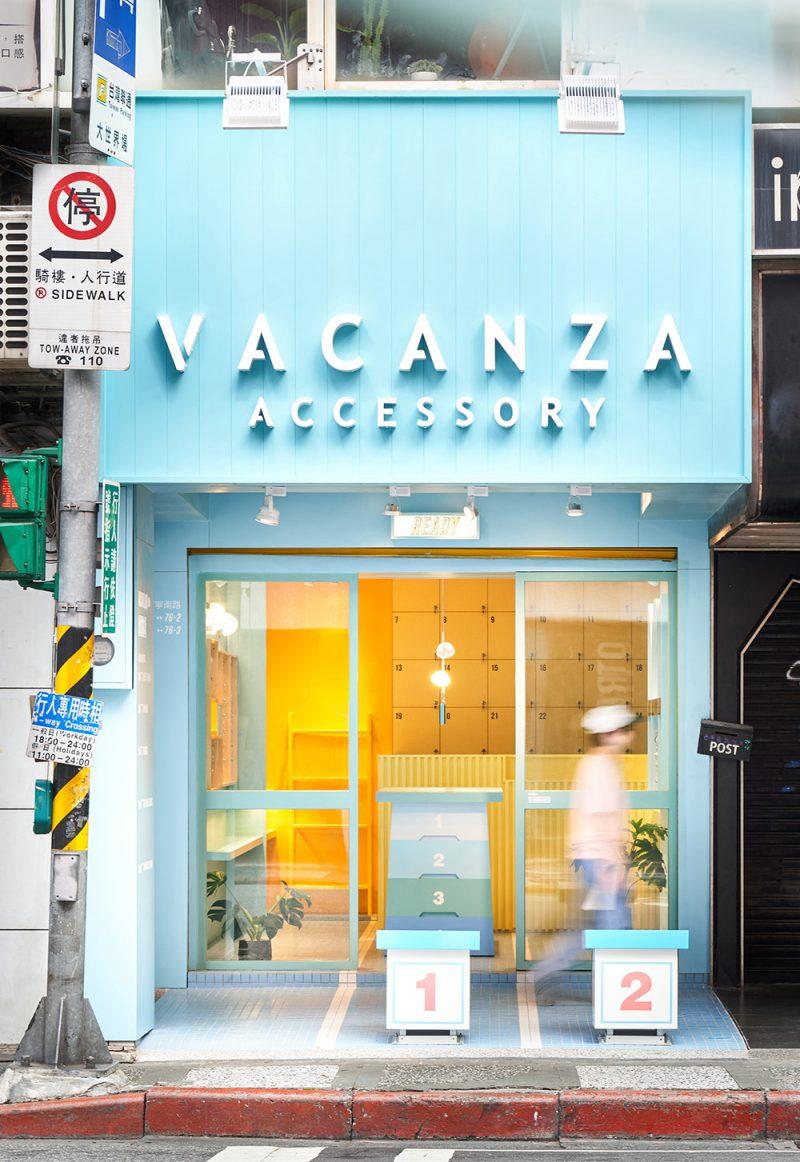 Vacanza Accesory, de 45tilt. Diseño de interior en Taipéi