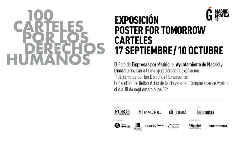"""""""¡Uno para todos, todos para uno!"""" una exposición de carteles que celebra el 70 aniversario de la Declaración Universal de los Derechos Humanos."""