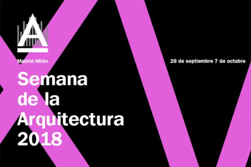 Del 28 de septiembre al 7 de octubre se celebra en Madrid la XV edición de la Semana de la Arquitectura. El COAM quiere acercar la Arquitectura a la sociedad.