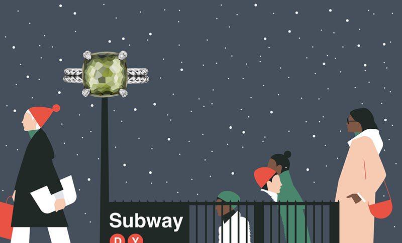 Minimalismo urbano en las ilustraciones de Ben Wiseman