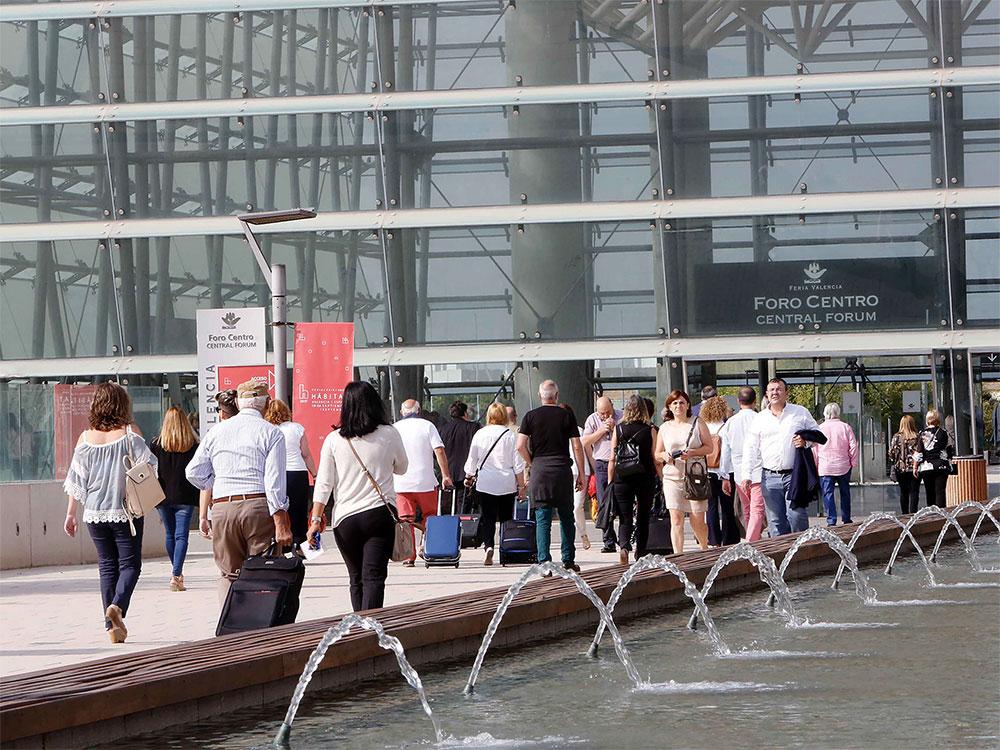 La Feria Hábitat Valencia se prepara para inaugurar su edición 2018