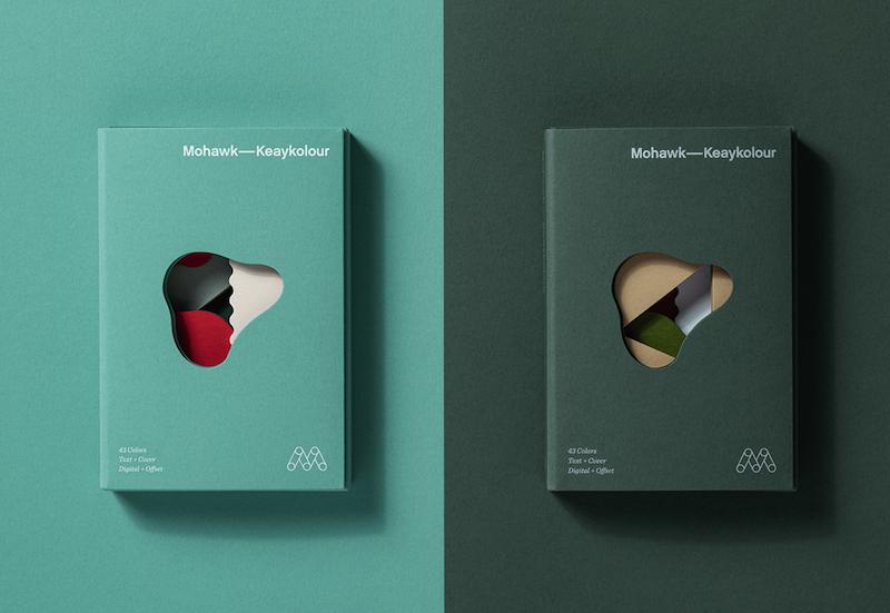 Keaykolour, el selector de papeles de colores de Hybrid Design