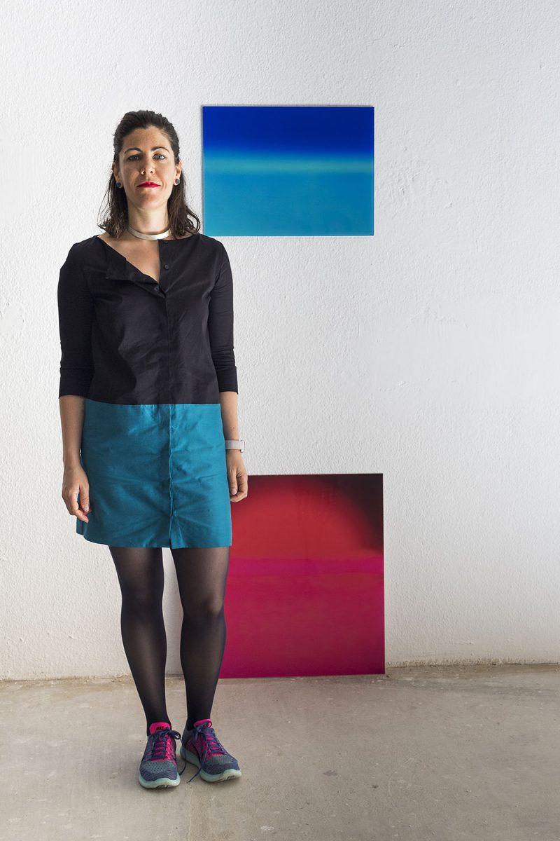 La artista Alejandra Gandía-Blasco explora el color de la primera luz
