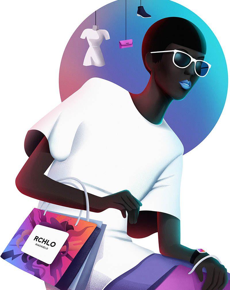 Las marcas más deseadas de Brasil ilustradas por Leo Natsume