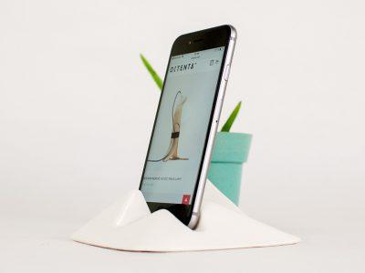 Montelouro, un soporte cerámico para dispositivos móviles