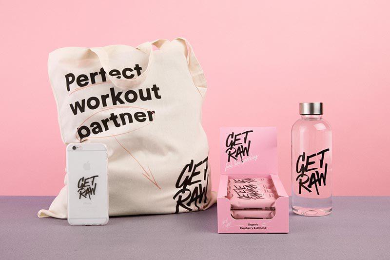 Get Raw renueva el gusto por lo saludable, en el rebranding realizado por Snask