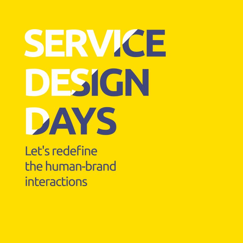Los días 5 y 6 de octubre se celebra Service Design Days 2018´, el evento para que los emprendedores y diseñadores estratégicos aprendan y disfruten de la innovación centrada en el diseño.