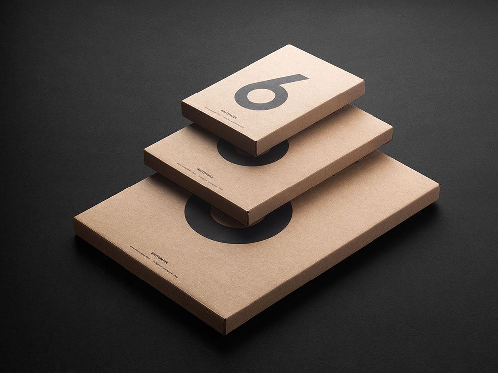 Un número, seis sobres: packaging de F61 para Wastepaper
