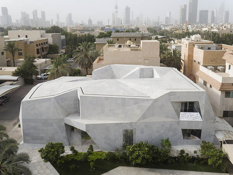 Rock House, la nueva vivienda de AGi Architects en Kuwait