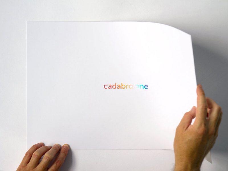 Cadabra. Diseño de identidad corporativa realizado por ByHaus