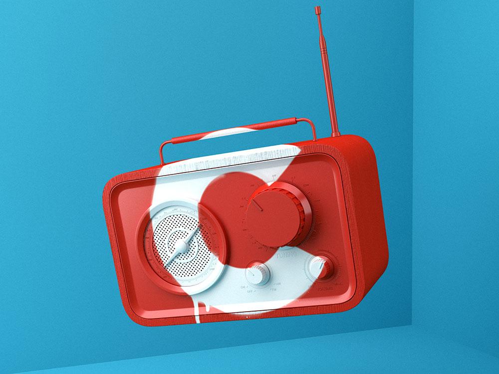 Ilustración digital 3D: las series tipográficas Muokkaa Studio