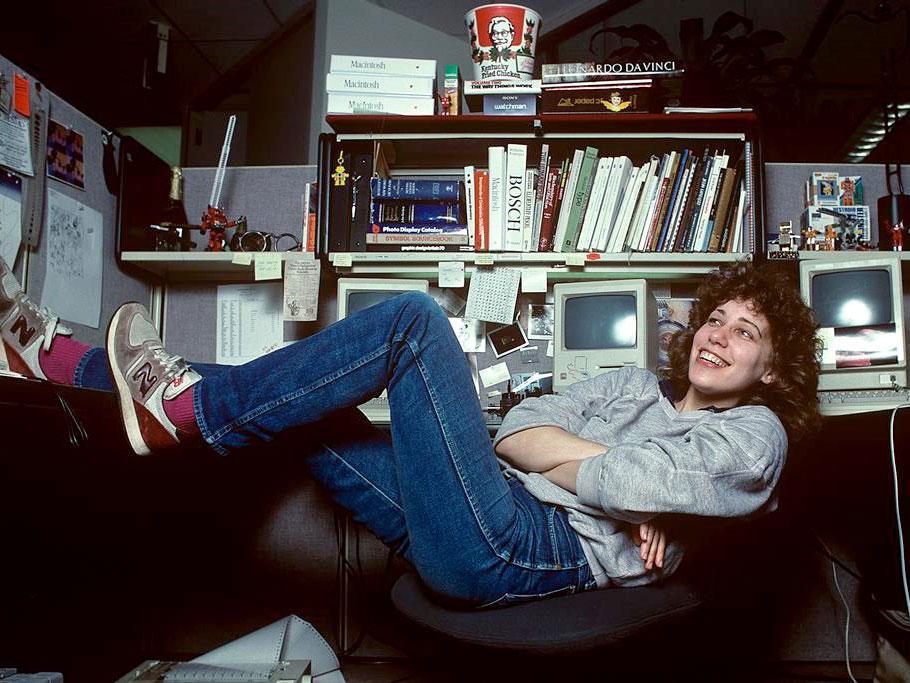 Susan Kare, la diseñadora icono de los iconos. Breve historia de una larga carrera