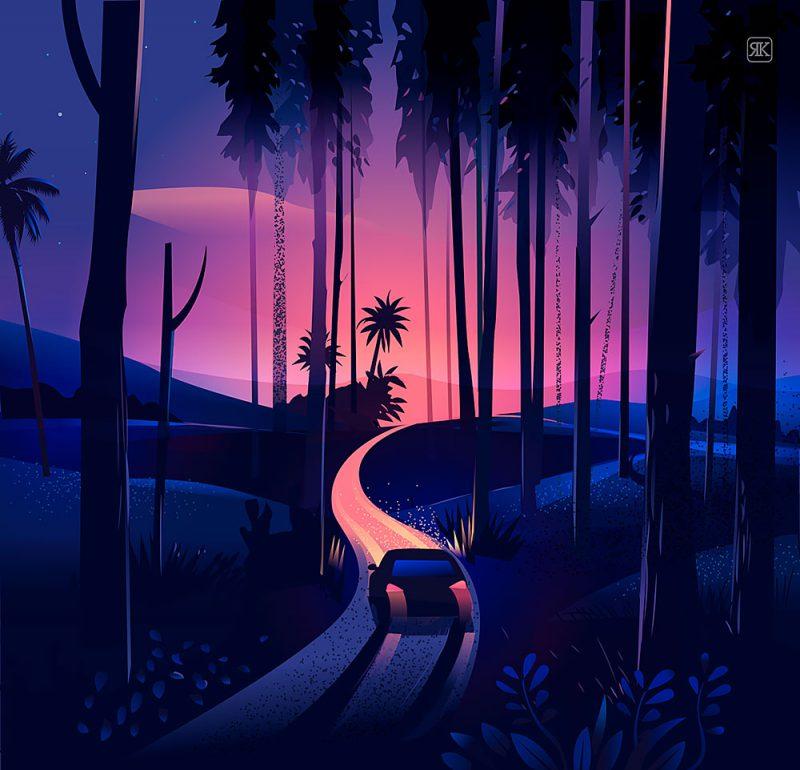 The Road Trip, la India ilustrada de Krishnamani
