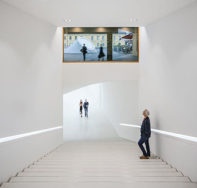 Amos Rex, el museo subterráneo de Helsinki
