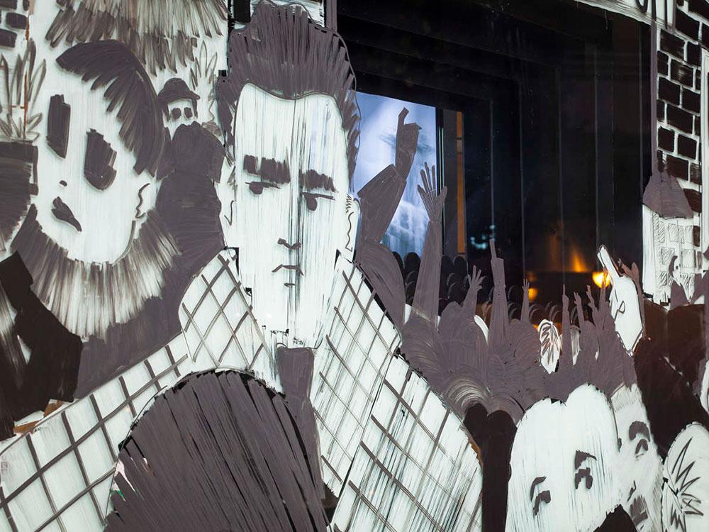 Lovisual vuelve a transformar las calles de Logroño en galerías de arte