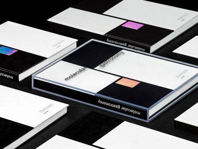 Molecular Gastronomy, diseño editorial de Explicit. Un homenaje a la cocina molecular