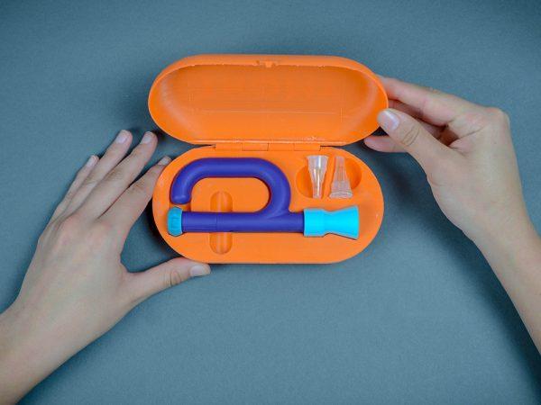 Thomy, el kit de insulina infantil de Renata Souza Luque