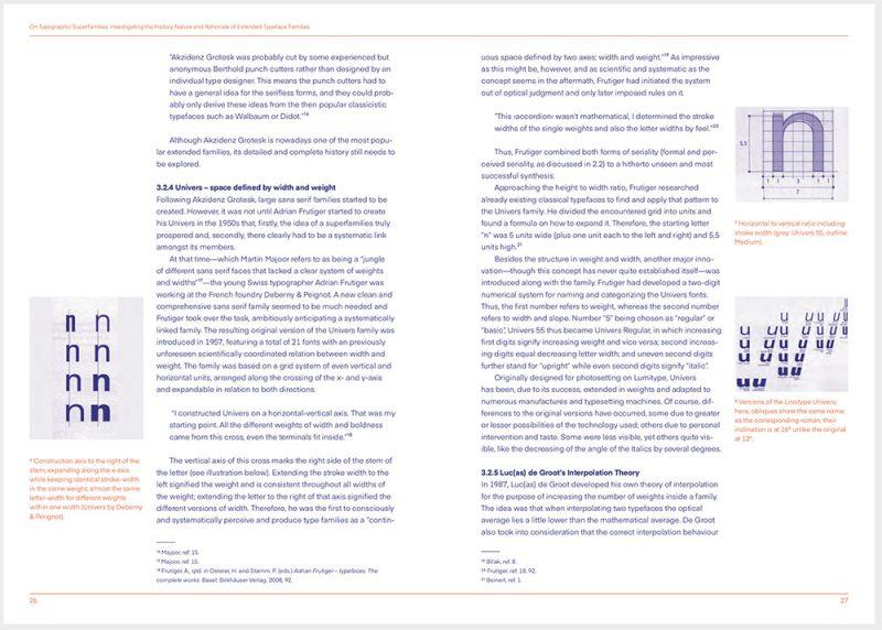 Typo EINA. 01, un libro sobre tipografía