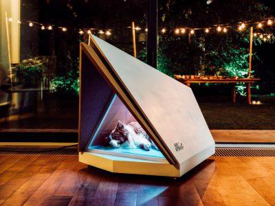Ford diseña una caseta para perros con terror a los fuegos artificiales