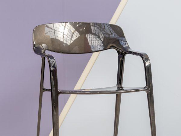 Karbon, la silla Javier Cuñado para Actiu. Diseño con fibra de carbono