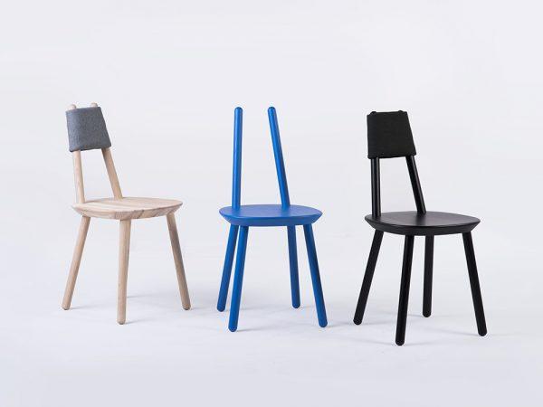 Naïve, la silla simple de Emko. Buen diseño lituano