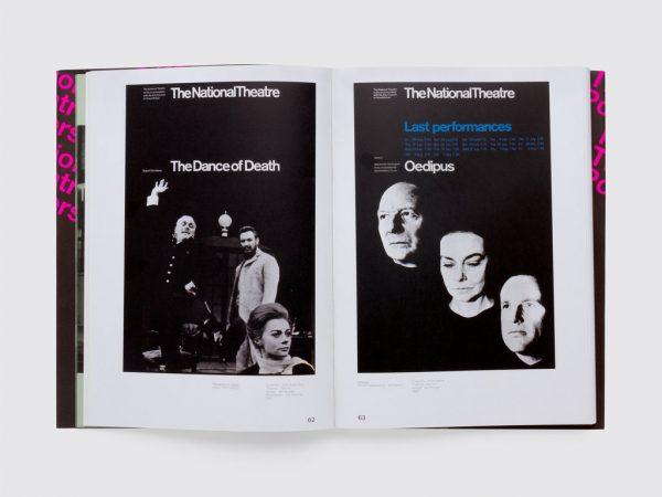 National Theatre Posters: A Design History. La vida gráfica del teatro británico