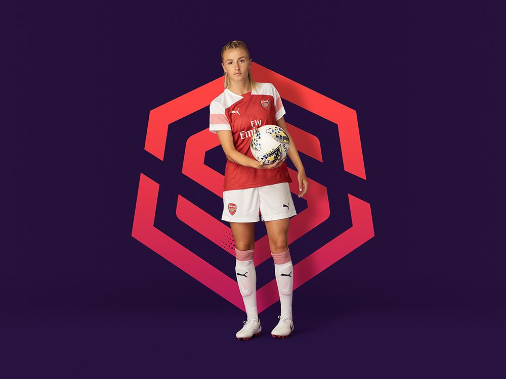 Identidad de marca: Nomad rediseña el fútbol femenino inglés