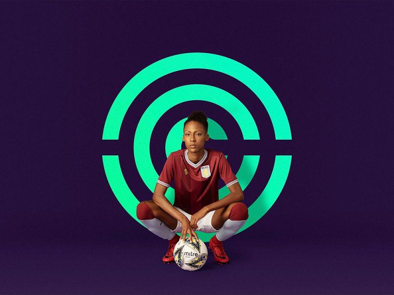 Nomad crea identidad de marca para las ligas del fútbol femenino inglés
