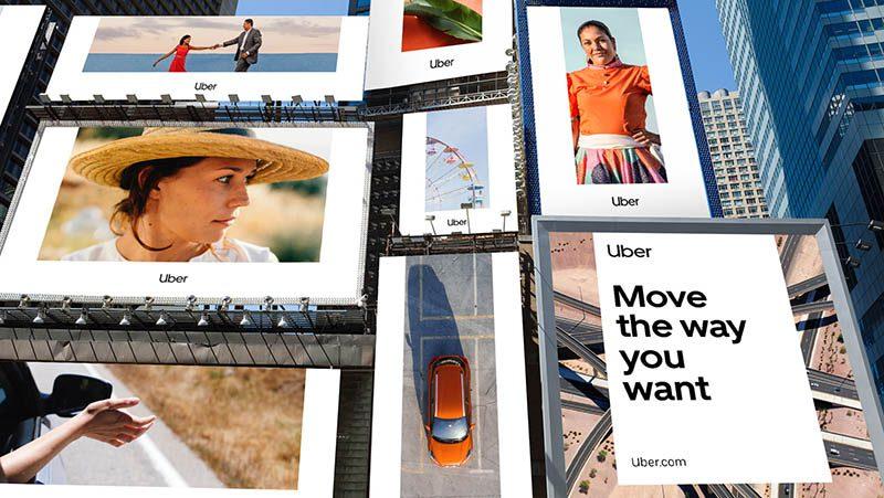 Simpleza y universalidad en el rebranding de Uber creado por Wolff Olins
