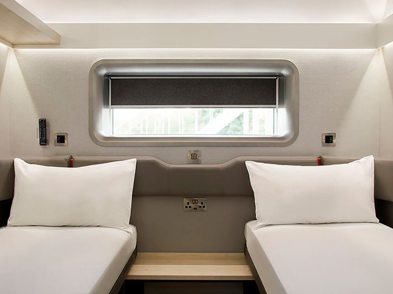 Zip, un concepto de hoteles compactos diseñado por PriestmanGoode
