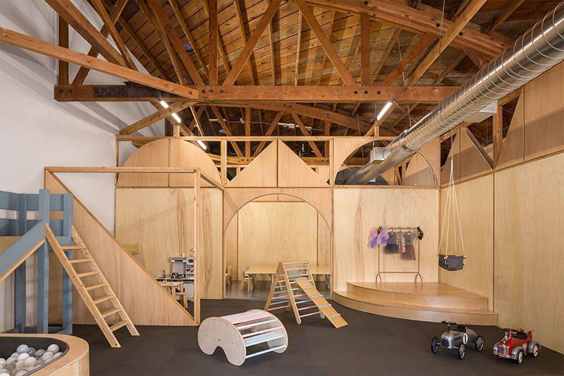 Big and tiny, un espacio de co-work para padres e hijos diseñado por Zooco