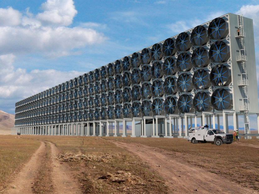 Carbon Engineering. Extraer CO₂ de la atmósfera para convertirlo en energía limpia